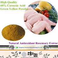 food grade natural antioxidant carnosic acid extracted from rosemary leaf