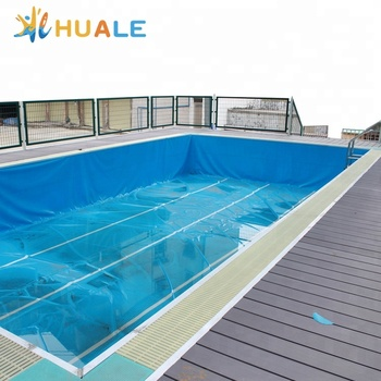 Custom self assembly inflatable assemble swimming pools