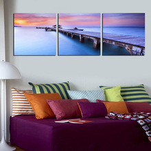 Custom Cheap Wall Art Oil Painting Canvas Print With Wood Frames
