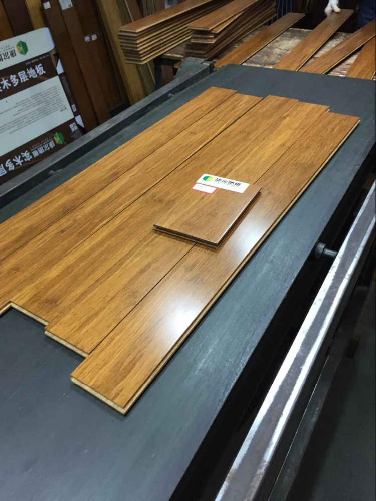 china factory manufacturing solid bamboo flooring with high quality and waterproof hot sale products in 2016