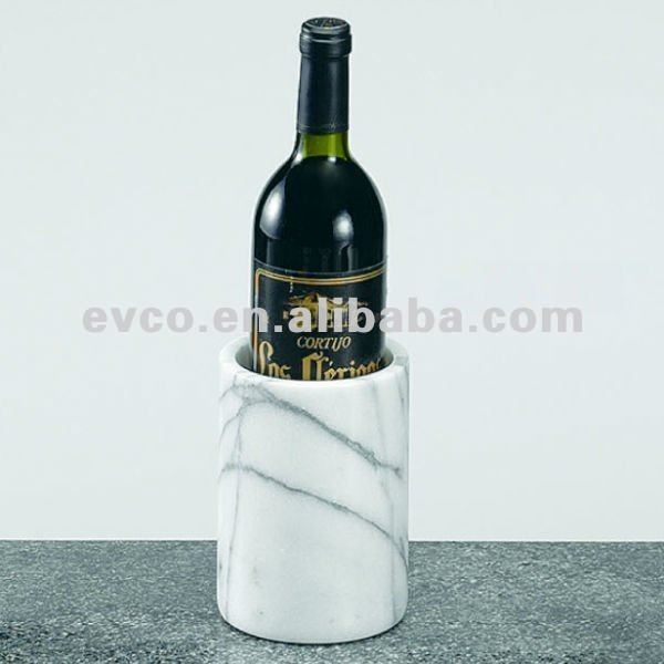 "White Marble 4-1/8"" x 6"" Wine Cooler/Deluxe Tool Holder"