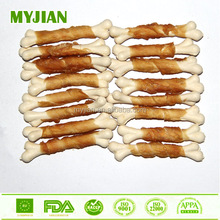 factory wholesale chicken & white calcium bone for sale dog food pet training treat for all breeds