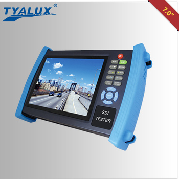 7 inch multi-function cctv HD-SDI Tester for full hd cctv camera cctv