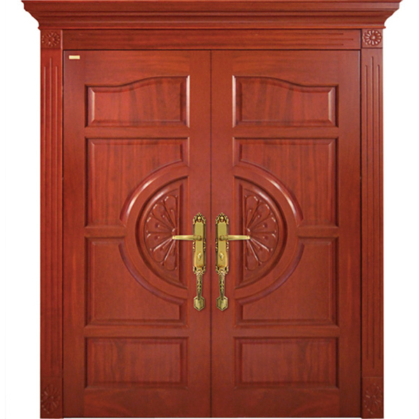 Startling traditional wooden door design for Main door designs 2014