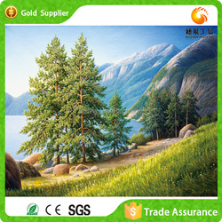 Waterfall Landscape Oil Painting Zhejiang Supplier