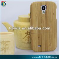 hot new products real wooden cell phone case for samsung galaxy s4