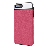 Strong Custom Wholesale Price Soft Touch Leather Phone Case for Iphone7
