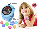 Best Waterproof GPS Smart Watch Baby Kids LED Flashlight Call Children Safe Anti-Lost Monitor Camera kids smart watch
