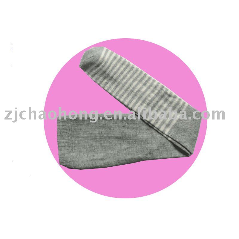 Grey tube footless pantyhose