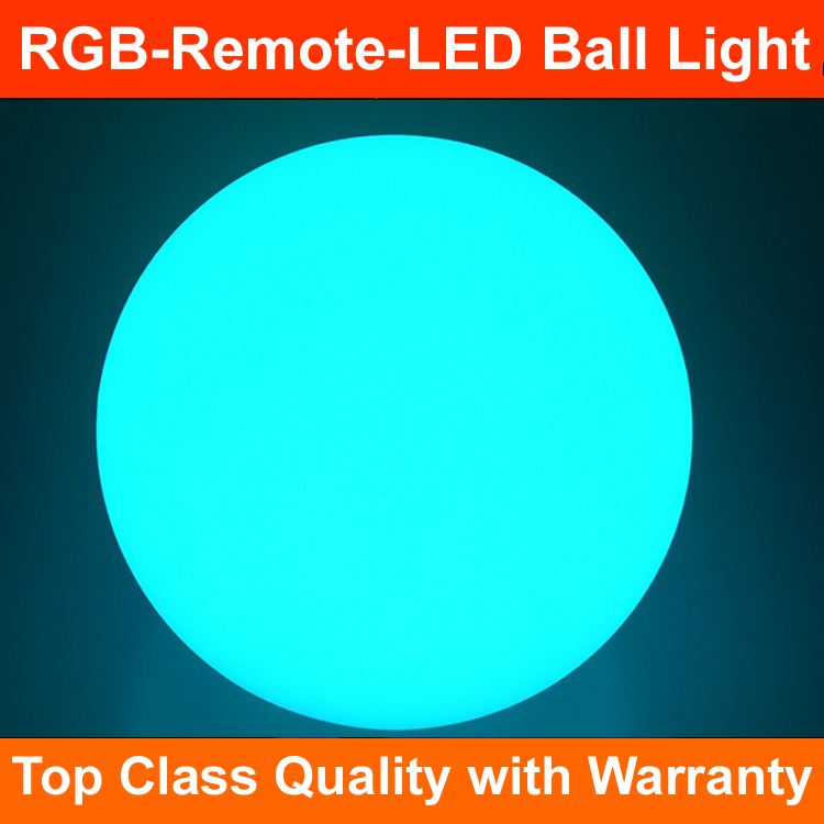 2017 top seller LED furniture light up sphere glowing mood light led ball waterproof led ball light