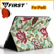 Flip Noble beautiful leather cover case for ipad5.smart cover case for ipad5