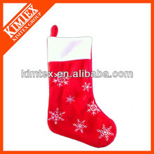 High quality plush christmas slipper socks