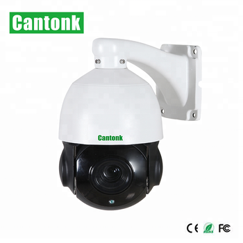 Cantonk 5MP IP P2P Speed Dome Cameras 22X Optical Zoom With Internal POE