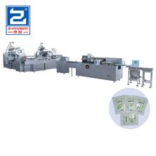 Automatic Granule Packaging Production Line with Cartoning Machine