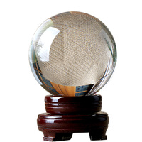 K9 Glass Crystal Ball With 10