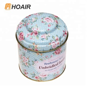 Hot selling Wholesale custom tea container tin box