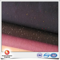 high quality yarn dyed cotton polyester colour nep oxford shirting fabric