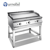 Furnotel Japanese Style Gas Teppanyaki Grill Equipment Cooktop On Sale