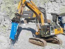 BLTB140 Rock Hydraulic Hammer suitable for 18-26 ton excavator