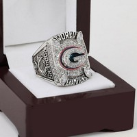 CSR025 NFL 2010 Super Bowl XLV Green Bay Packers Championship Replica Ring with Wooden Box - Rodgers
