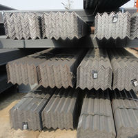 Black Vertical Angle Carbon Steel Angle Bar for Building / Structural Beam