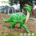Amusement Resin Dinosaur Parasaurolophus Model