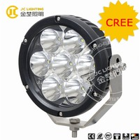 7 inches 70w led wok light 70w cree led driving light for 4wd Jeep Offroad 70w led Uv Nail Lamp
