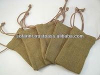 Jute Draw String Bag & Small Draw String Jute Bag