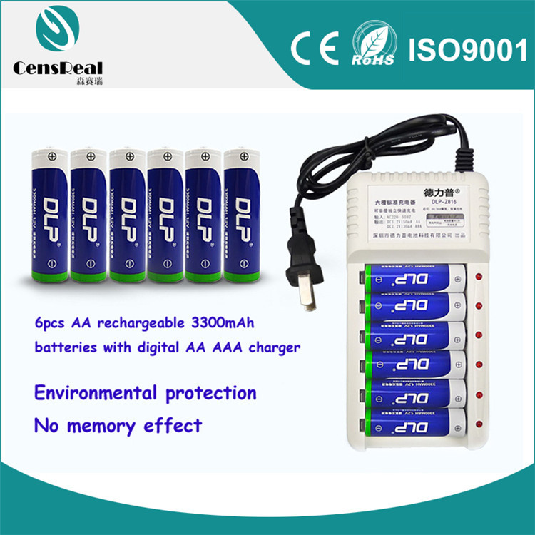 Small rechargeable battery 1.2v 3300mAh super rechargeable mini 1.2v rechargeable