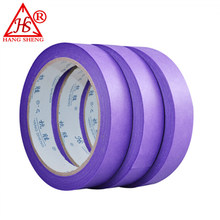 custom rubber vinyl reliable performance printing white painter's decoration crepe paper masking tape