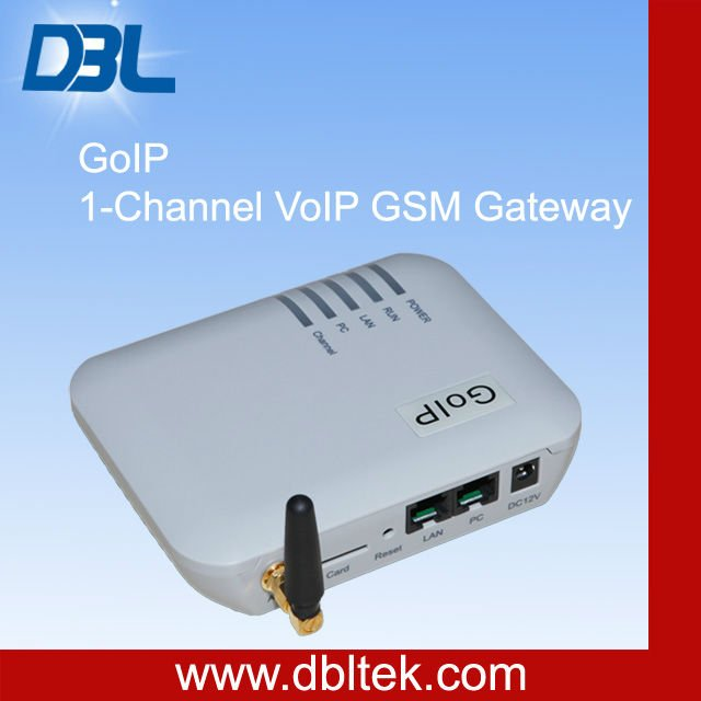 DBL VOIP GSM Gateway/ Adapter for gsm ip hone (GOIP-1)