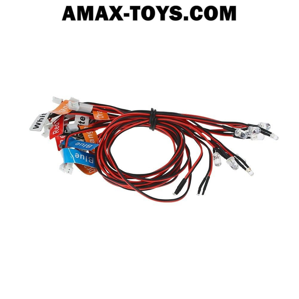 911004-Smart LED System Support PPM/FM/FS 2.4G System for 1/10 TAMIYA Touring Car