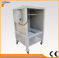 Manual mini paint booth for sale
