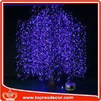 Color changing Artificial led weeping willow tree lighting