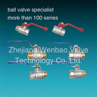 brass ball valve with lock(water meter)