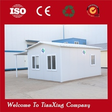 Good quality &elegant design shipping container two bedroom prefab house for living