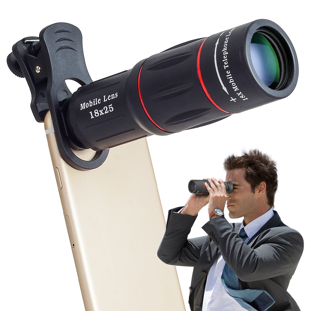 long range monocular telephoto Lens Focus Type 18X telephone optical zoom camera lens
