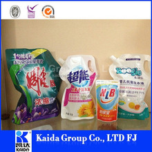 Kaidai low cost high quality KD-20-Z liquid packaging plastic bag detergent pouch