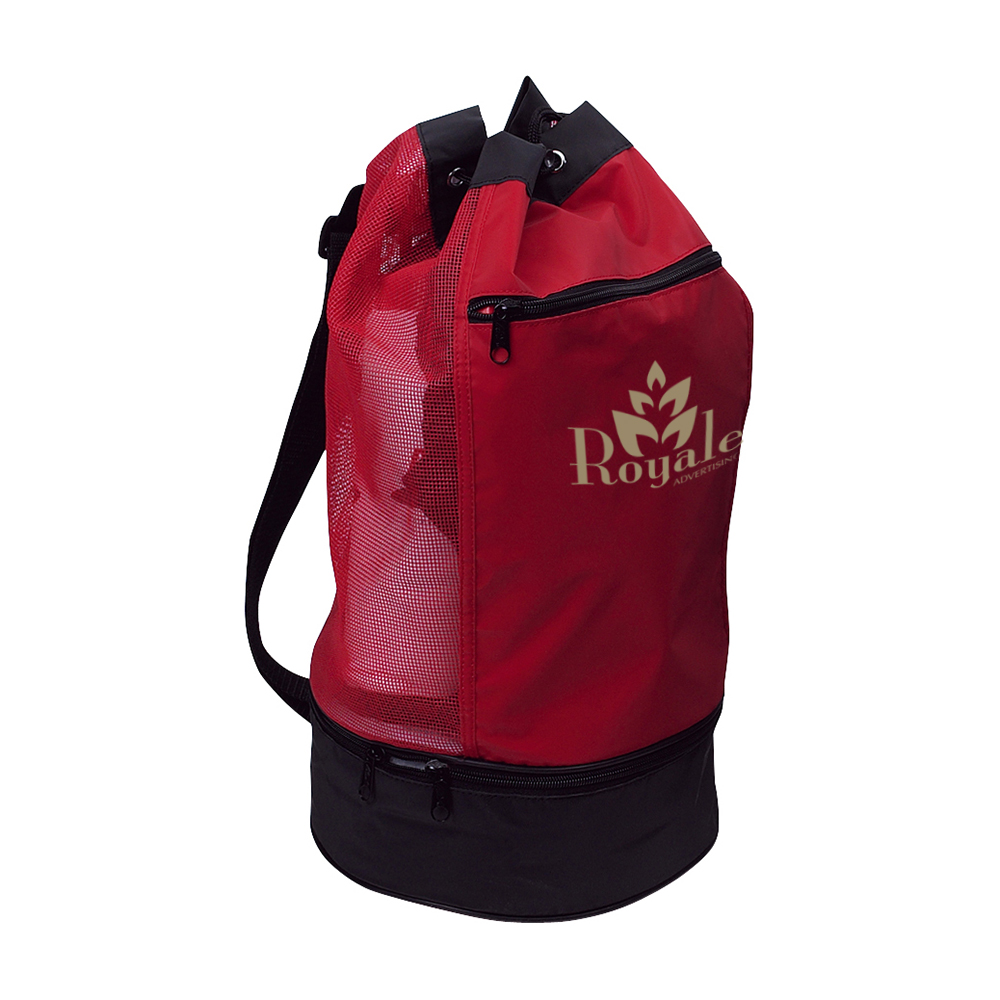 XS-2367 handy drawstring backpack beach cooler bag promotional