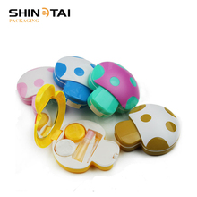 Wholesale Pretty Mini MOQ Cheap Custom Plastic Contact Lens Case