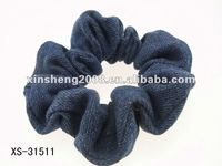 2012 NEW STOCK Korean jean elasstic hair fabric scrunch