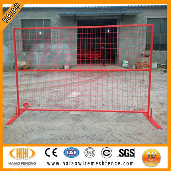 ISO factory Canada temporary fence panels hot sale