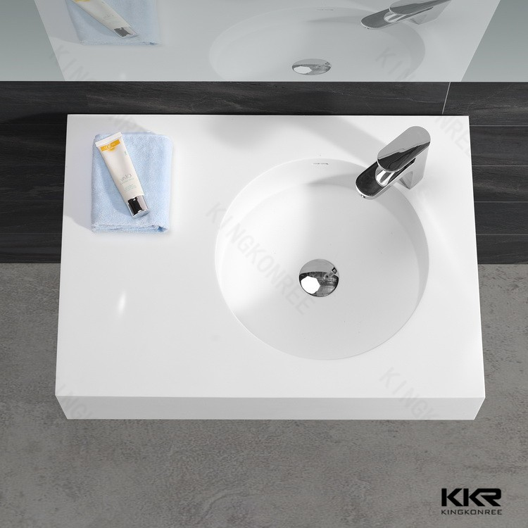 factory supply vanity top counter top resin basin wash