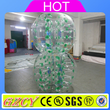 TPU 1.5m Inflatable Human Soccer Bubble Inflatable Bumper Ball Bubble Foot For Sale