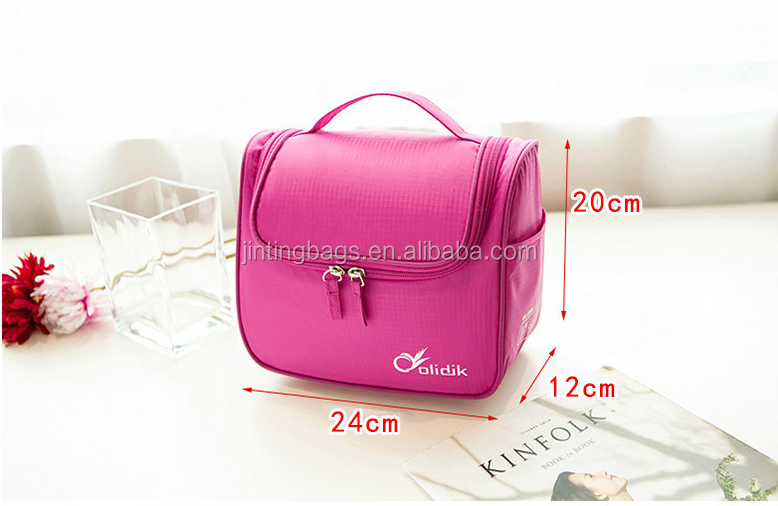 Hanging Toiletry Bag For Men & Women Kit For Travel Makeup Cosmetic Shaving Accessories Use In Hotel Car