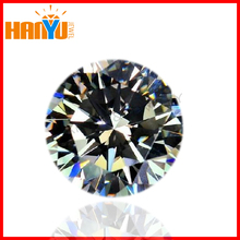 brilliant cut round white cubic zirconia cz gemstone for hot sale jewelry rings