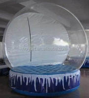 hot sale christmas inflatable snow globe