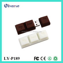 Chocolate shape 62gb usb flash drive,wholesale 64mb usb flash drive,bulk 128mb usb flash drives