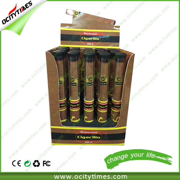 Custom package disposable e cigar 400puffs 500puffs 1800puffs