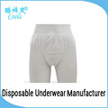 Men Boxer Brief Nonwoven Underwear High Quality Disposable Underwear For Travel